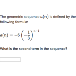 Intro to geometric sequences video  Khan Academy