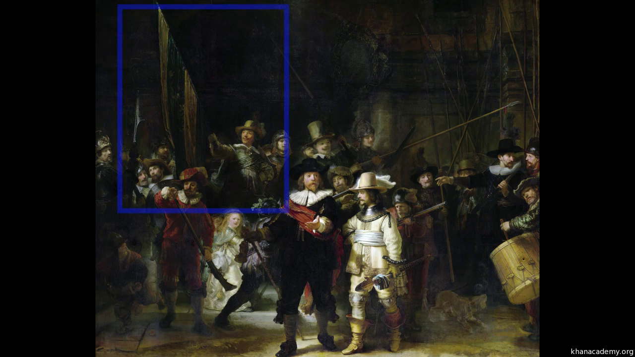 rembrandt the night watch article khan academy