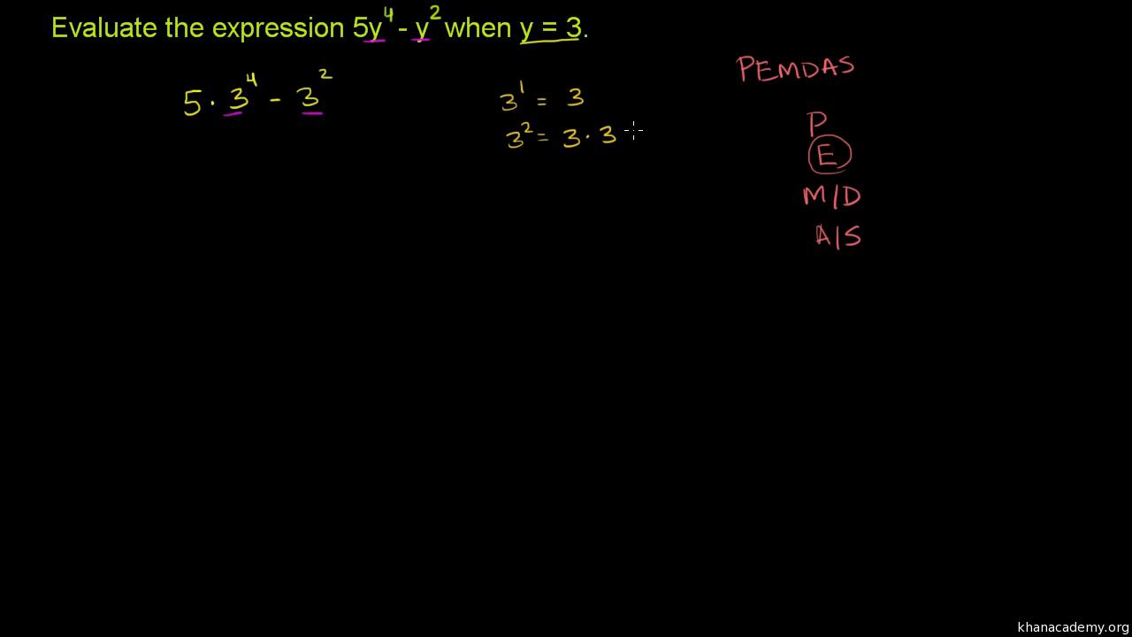 Variables & expressions   6th grade   Math   Khan Academy