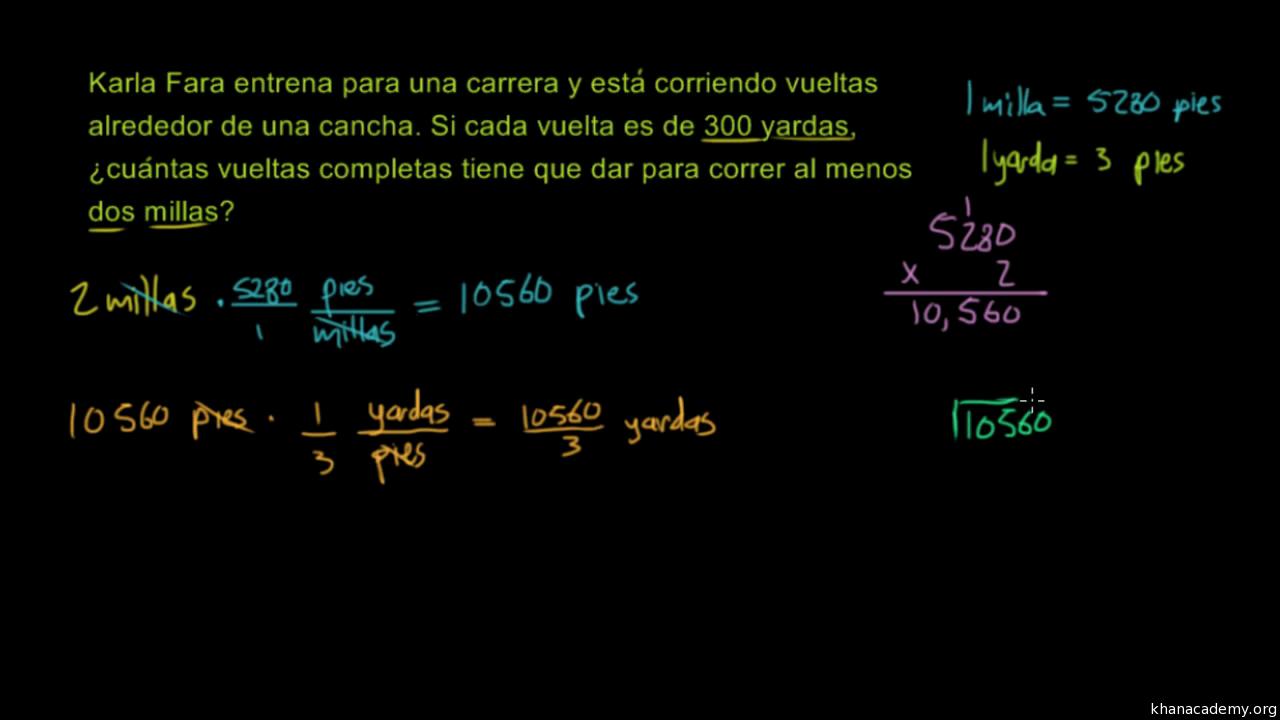 Problemas verbales de conversión de unidades (sistema métrico ...