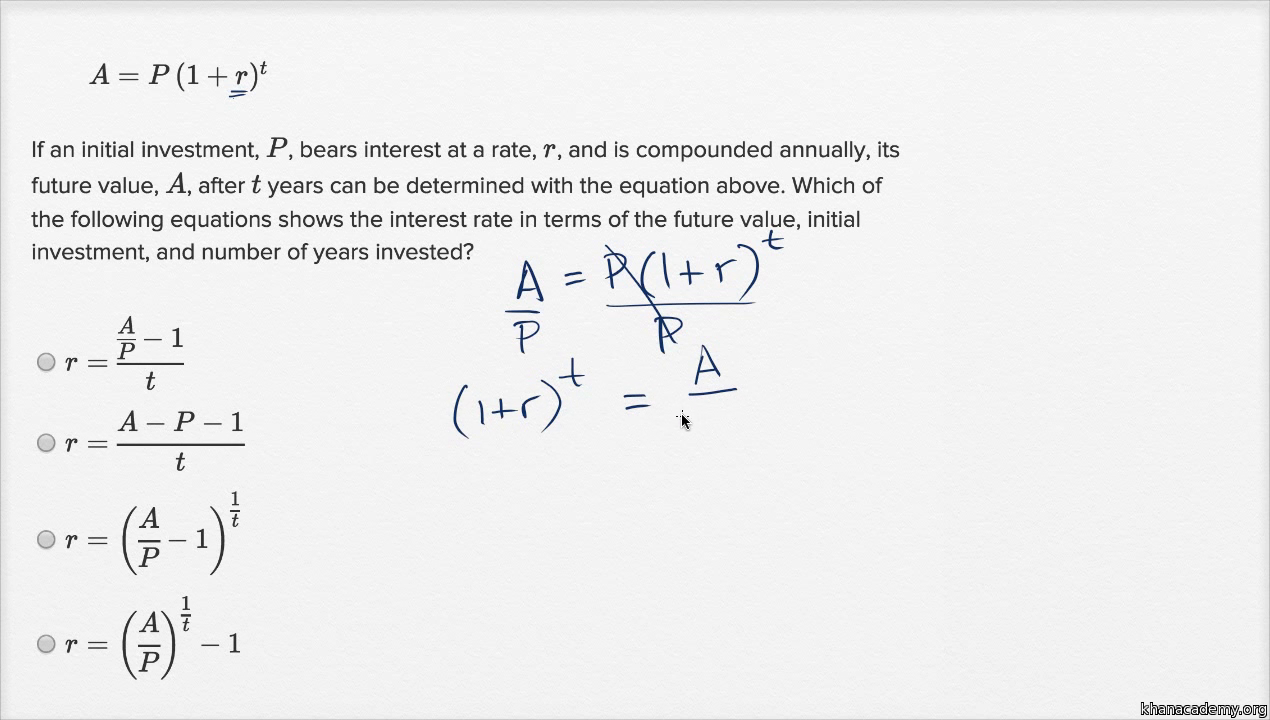 nonlinear equation graphs — harder example (video) | khan academy