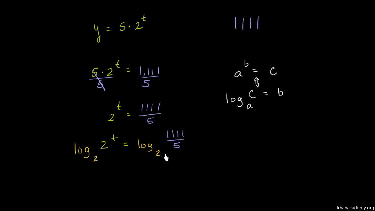 Solve Exponential Equations Using Logarithms Base 10 And Base E