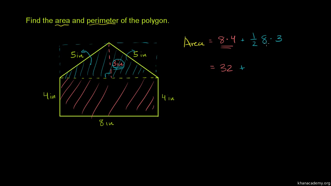 Area Of Composite Shapes Video Khan Academy Compound ...