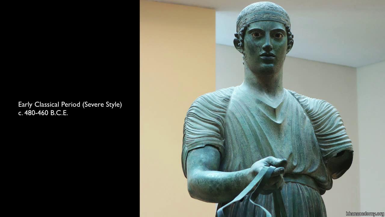 Kritios Boy (video)   Early classical   Khan Academy