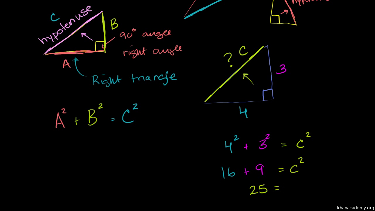 use pythagorean theorem to right triangle side lengths use pythagorean theorem to right triangle side lengths practice khan academy