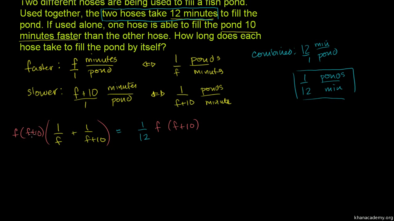 Rational Relationships Algebra Ii Math Khan Academy