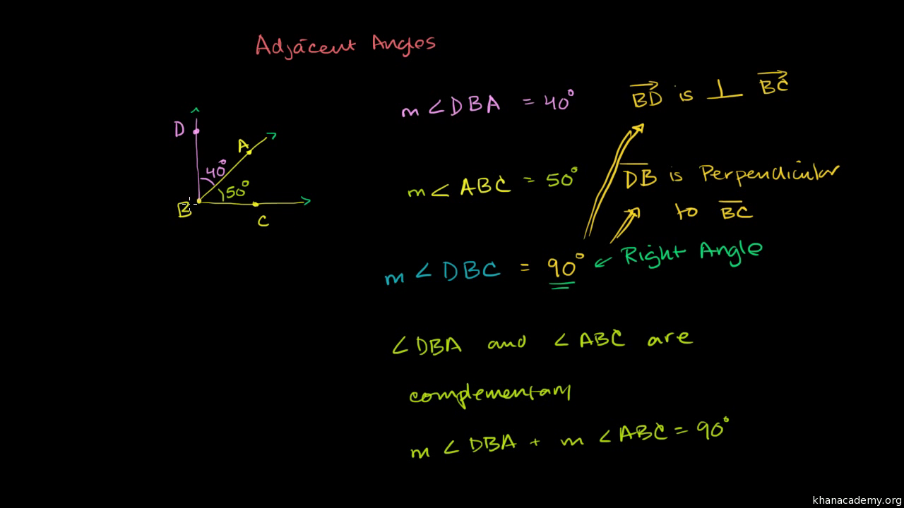 worksheet Supplementary Angles complementary and supplementary angles review article khan academy