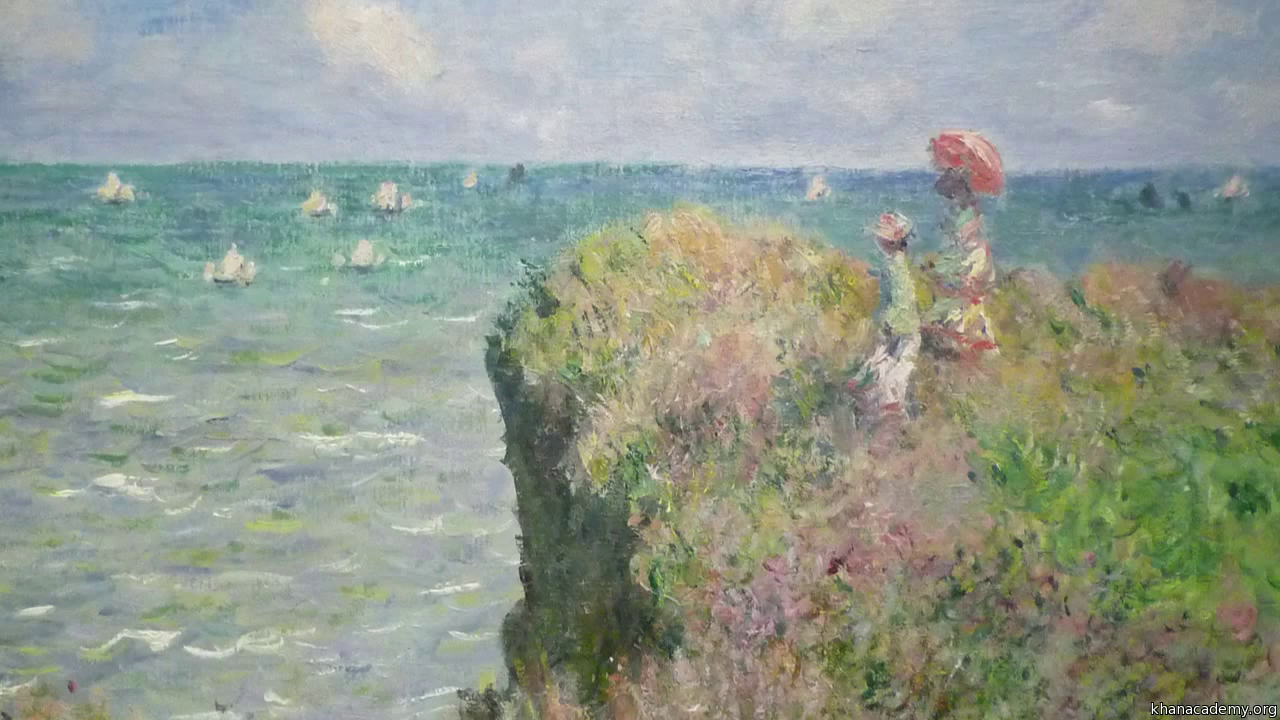 essay monet Everything changes, even stone claude monet wrote these words in a letter  and vividly demonstrated them in paint, conveying a wondrous combination of.