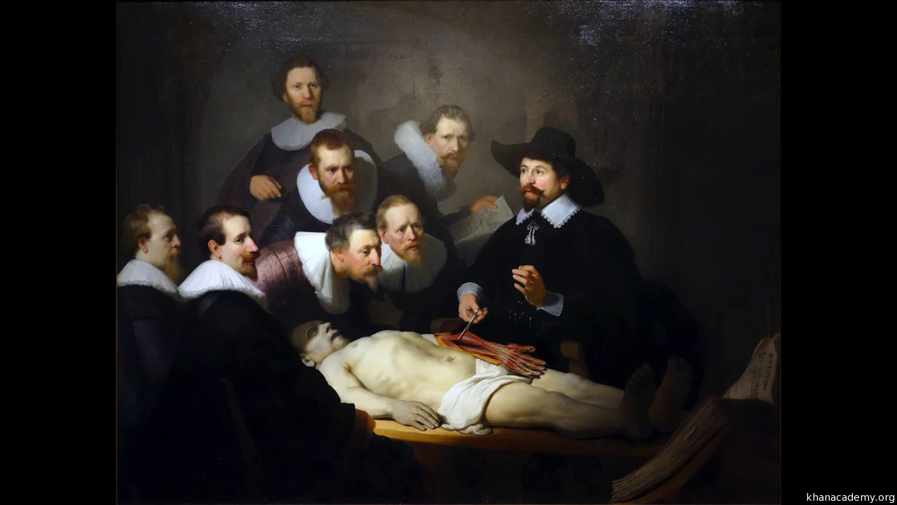 Rembrandt, The Anatomy Lesson of Dr. Tulp (video) | Khan Academy