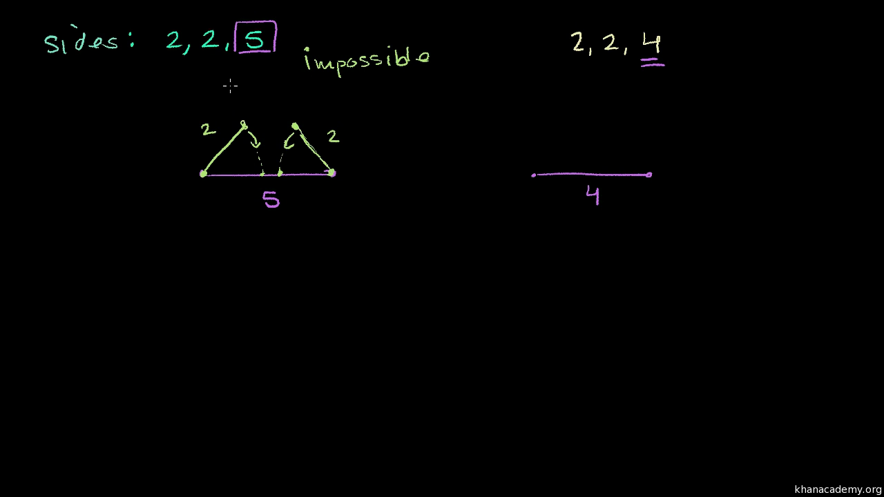 Construct a triangle with constraints (video) | Khan Academy