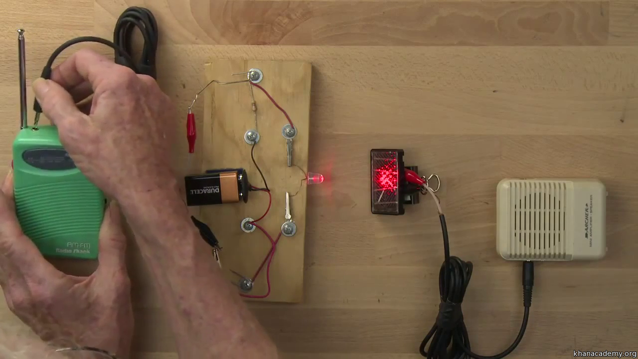 Light Into Sound Introduction Video Khan Academy Creating A Wire Harness