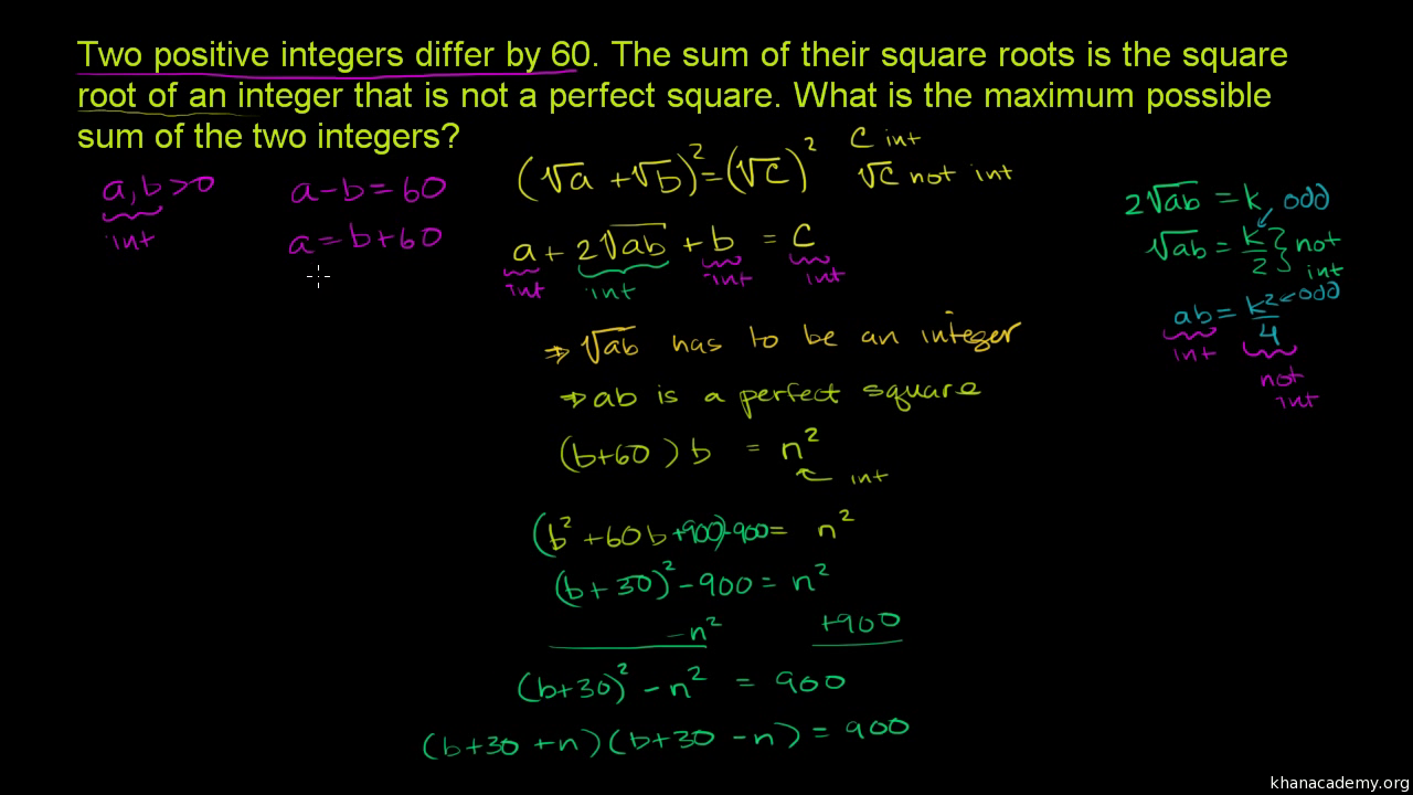 Sum of polynomial roots (proof) (video) | Khan Academy