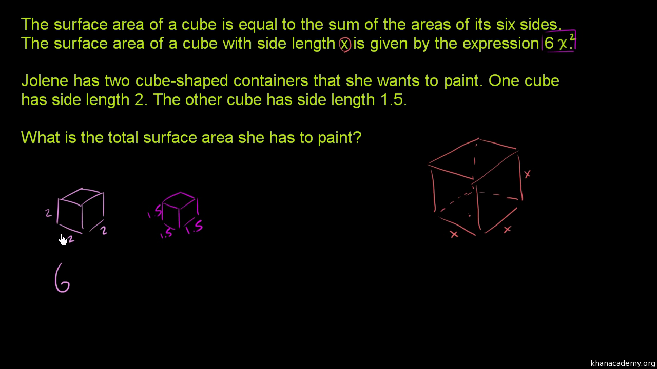 Variables Expressions 6th Grade Math Khan Academy