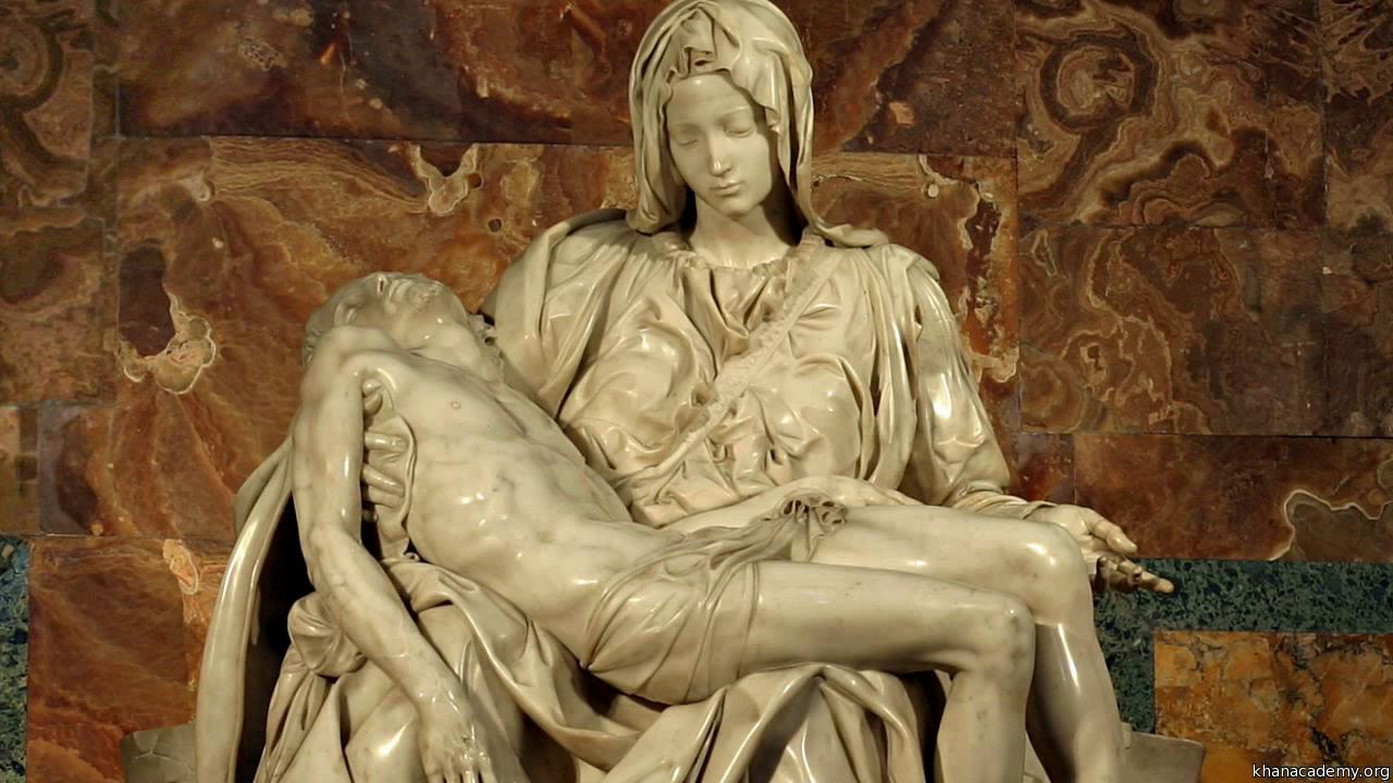 pietà marble sculpture video khan academy