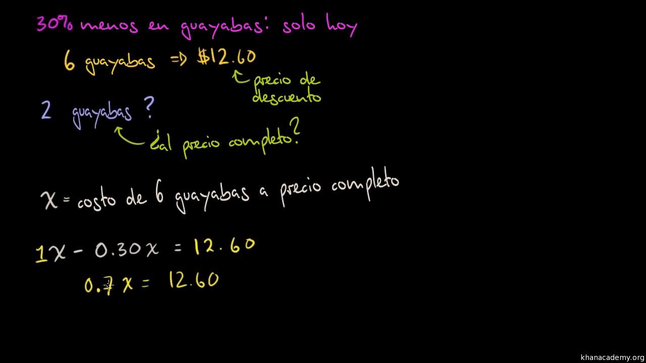 Problema verbal de porcentaje: ¿100 es qué porcentaje de 80? (video ...