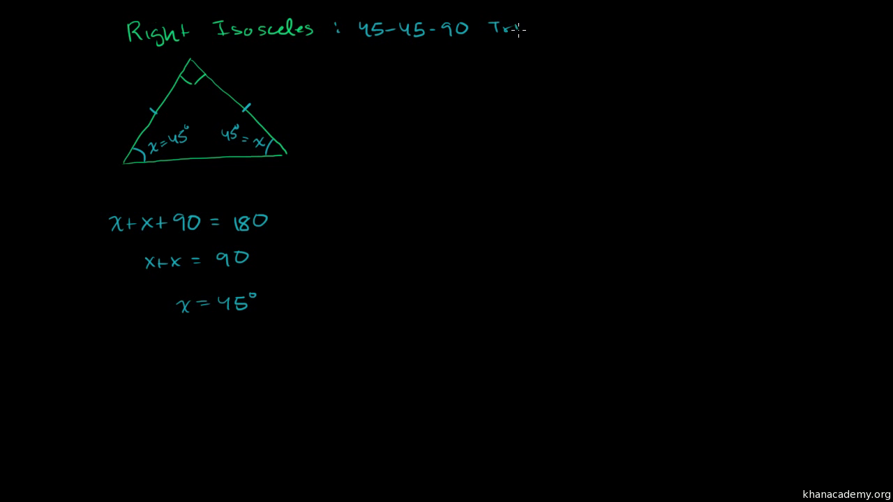 Special right triangles intro part 2 video khan academy robcynllc Image collections