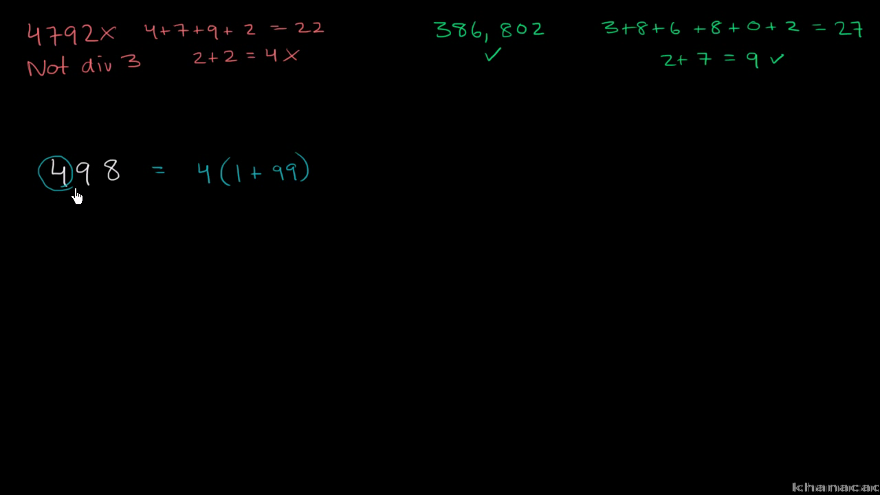 math worksheet : divisibility tests for 2 3 4 5 6 9 10  khan academy : Ests Of Divisibility Wo