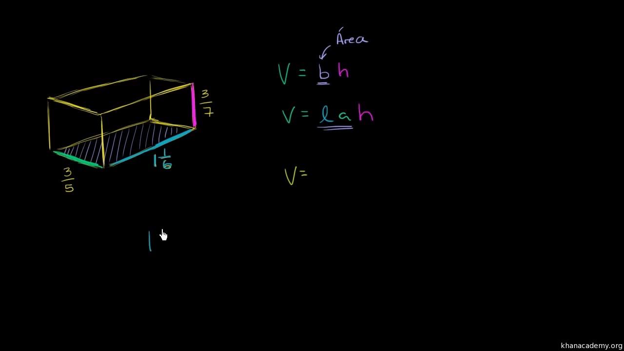 El volumen de un prisma rectangular: problema verbal (video) | Khan ...