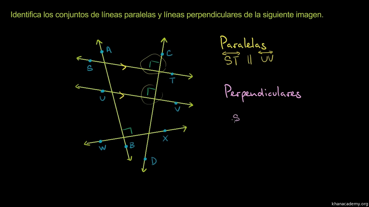 Parallel & perpendicular lines | Basic geometry (video) | Khan Academy