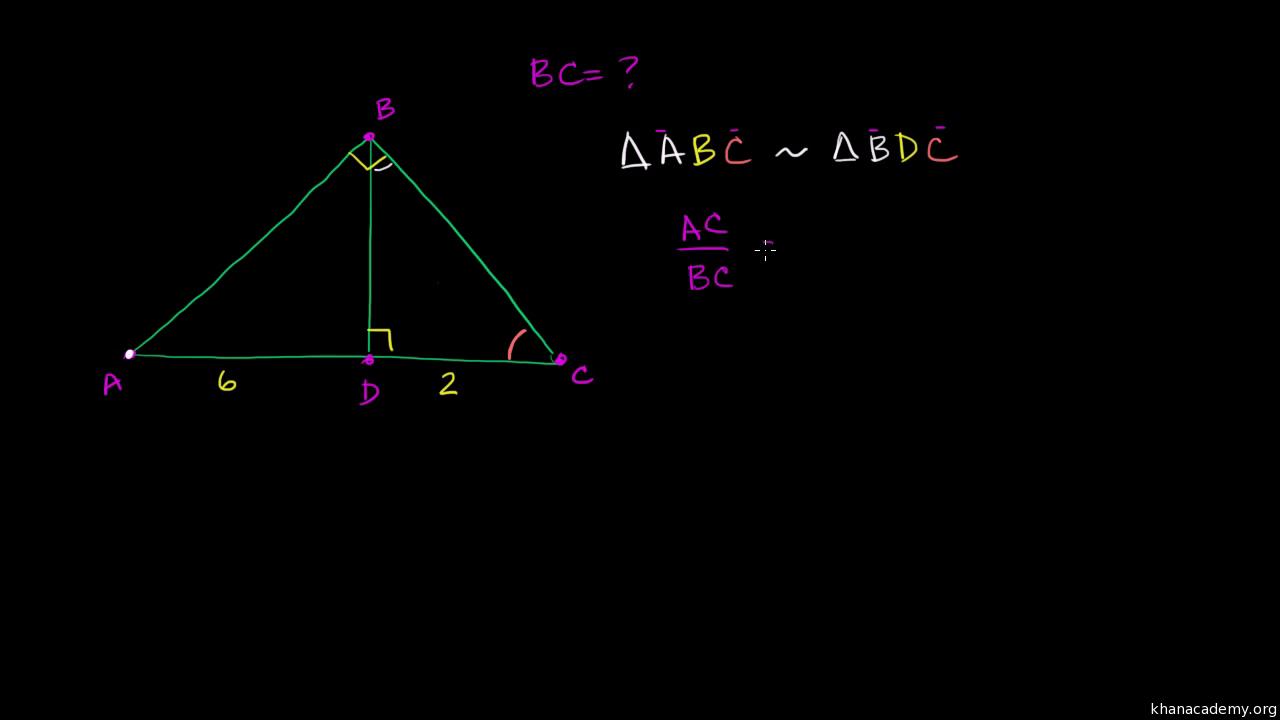 Solving Similar Triangles Video Khan Academy