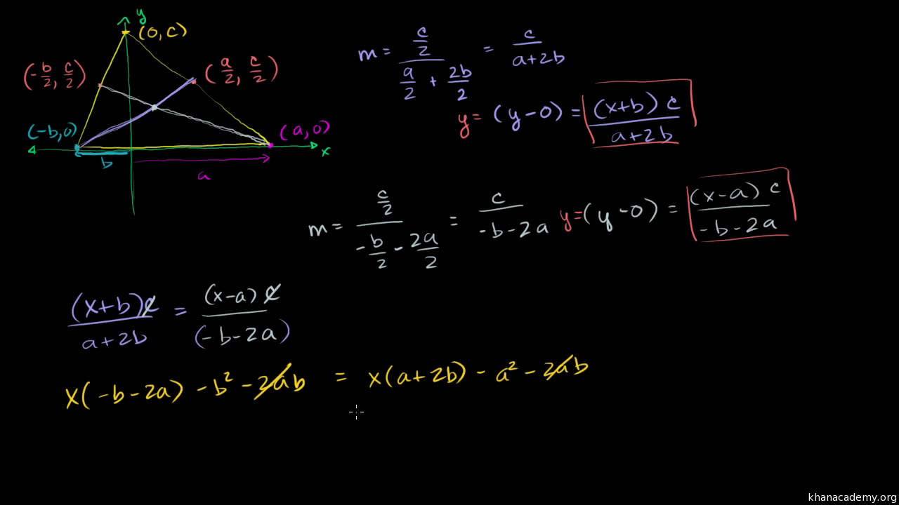 Median centroid example video triangles khan academy ccuart Images