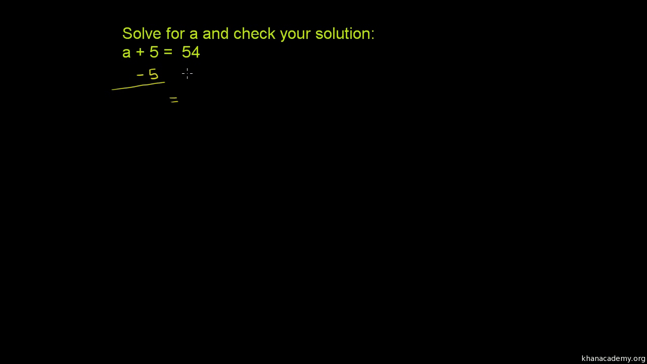 Equations & inequalities introduction | 6th grade | Math | Khan Academy