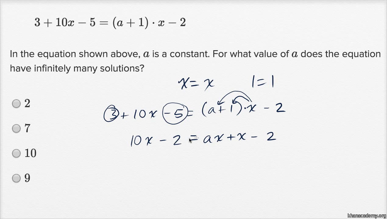 linear function word problems — harder example (video) | khan academy