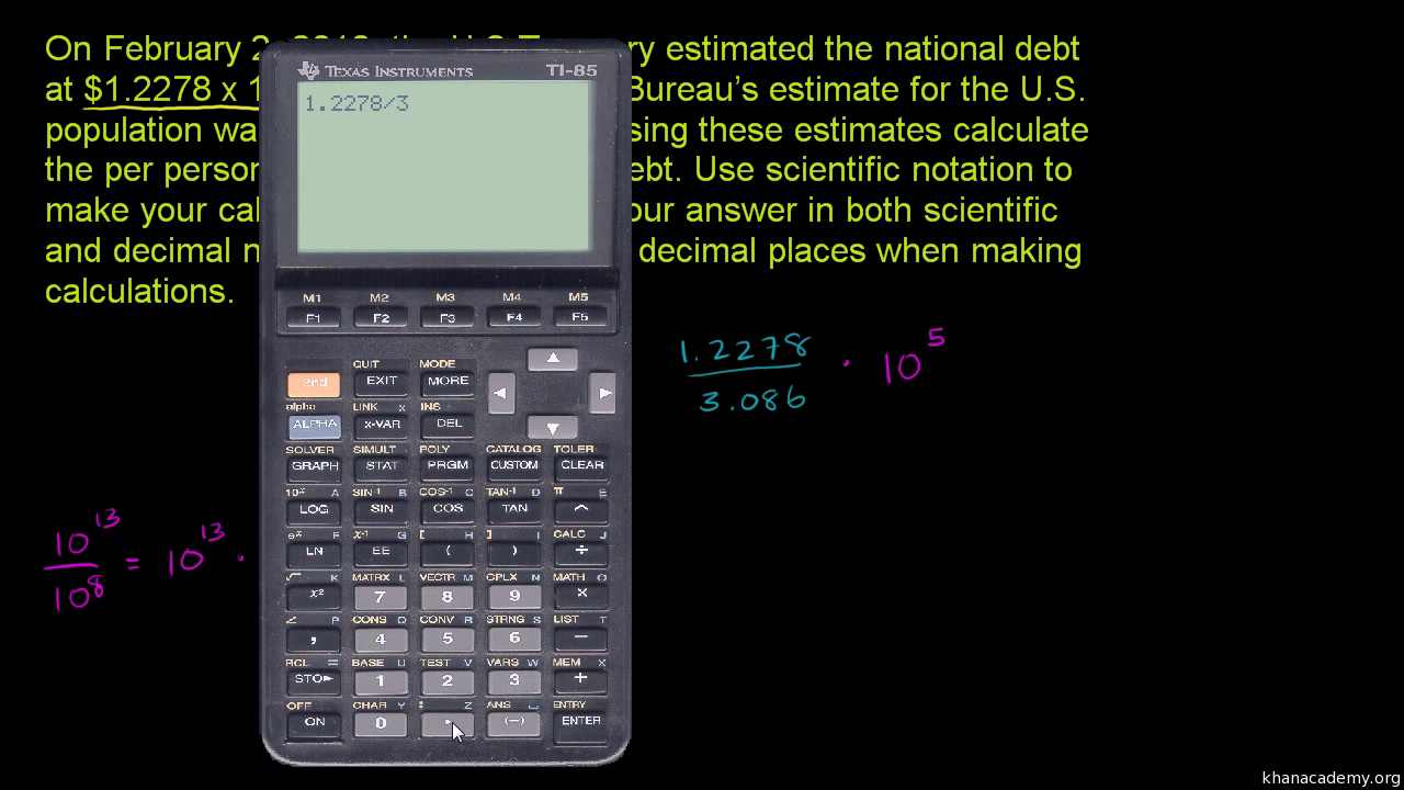 Multiplying dividing in scientific notation practice khan academy falaconquin