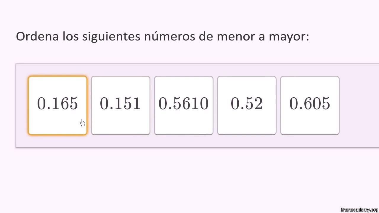Valor posicional y decimales | 5.º grado | Matemáticas | Khan Academy