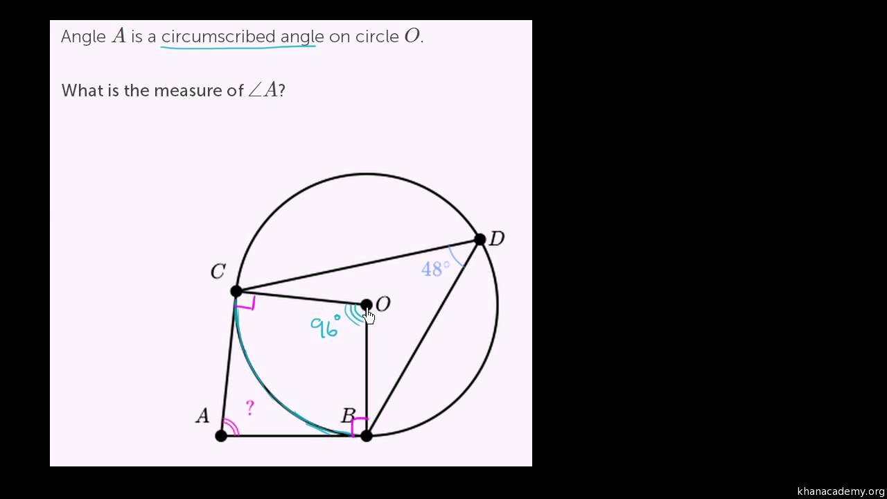 challenge problems radius tangent article khan academy