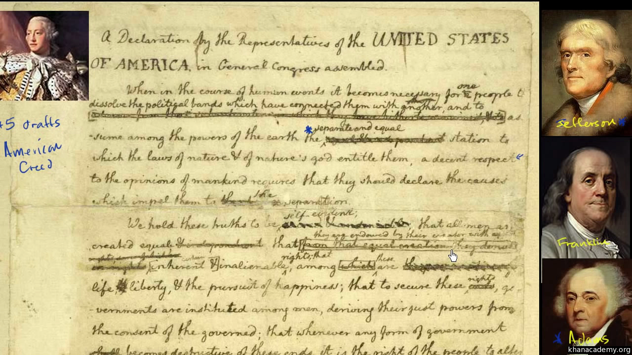 The American Revolution 1775 Video Khan Academy