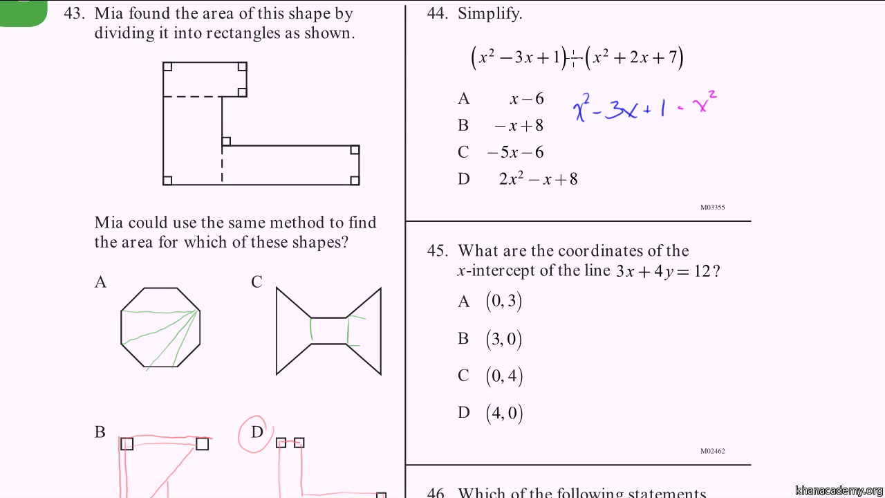 cahsee practice problems 1 3 video khan academy cahsee essay examples