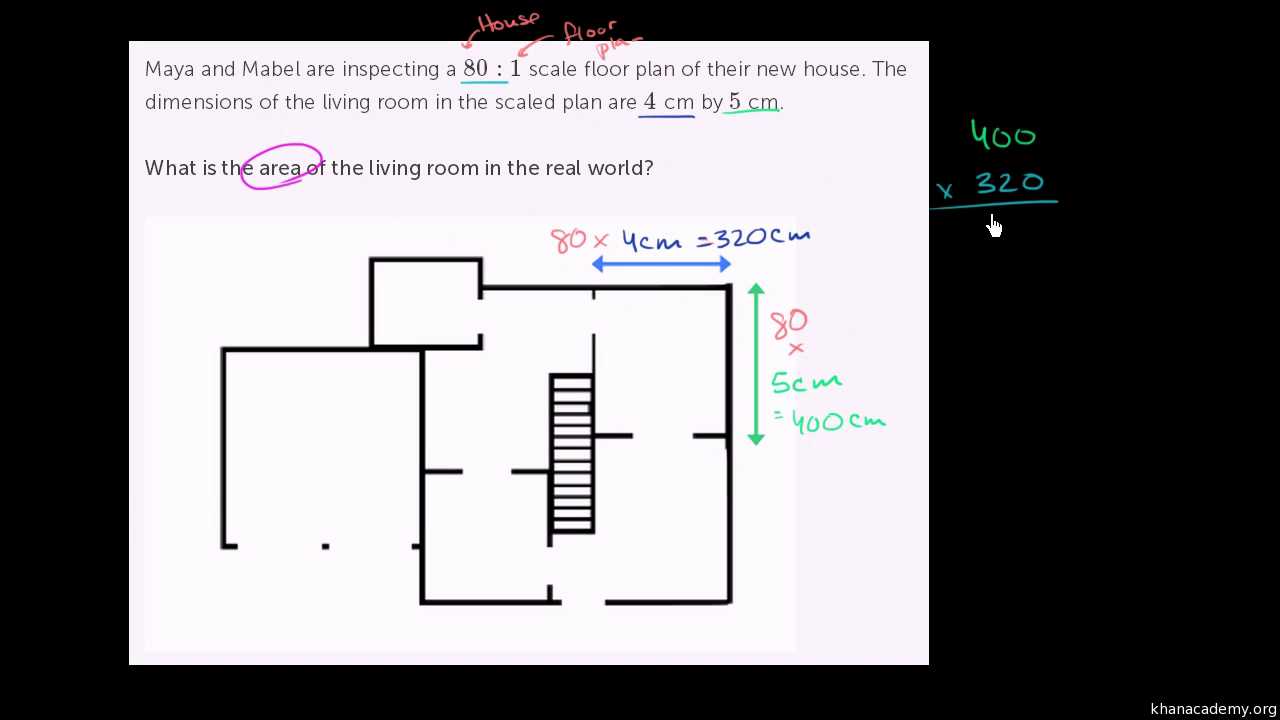 scale factors and area video geometry khan academy rh khanacademy org drawing scale vector diagrams drawing scale diagrams of cells