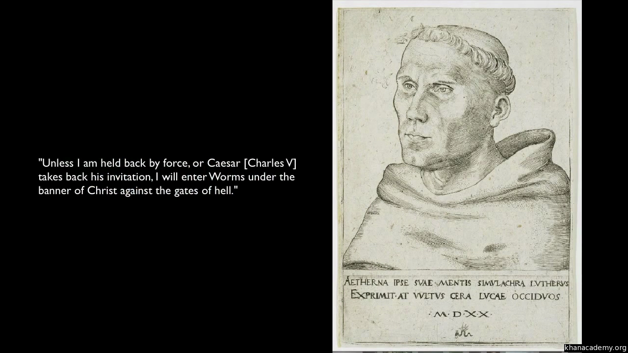 an introduction to the protestant reformation article khan academy