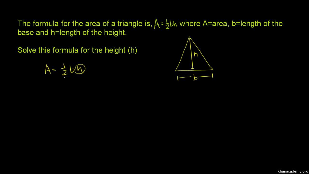 Manipulating formulas area video khan academy robcynllc Gallery