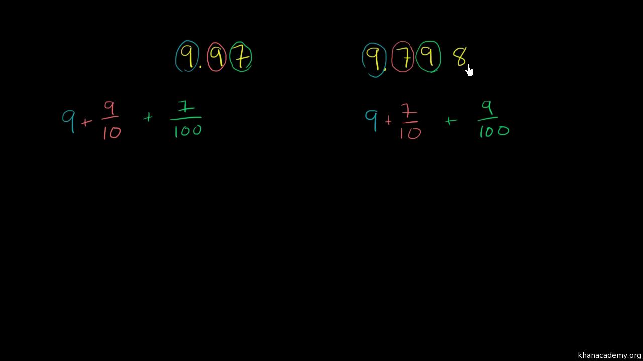 Workbooks njatc workbook answers : Module 1: Place value and decimal fractions   Khan Academy