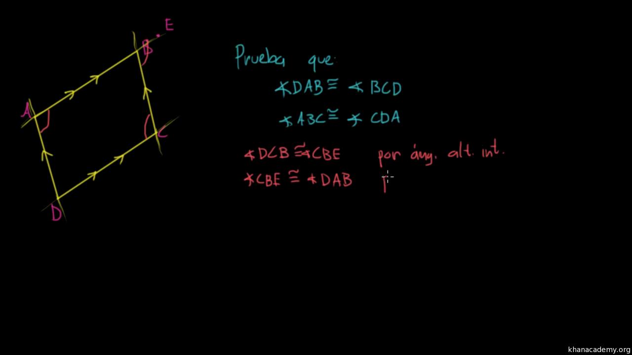 Los ángulos en cuadriláteros (practica) | Khan Academy