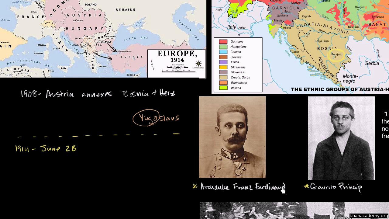 Alliances leading to World War I (video) | Khan Academy