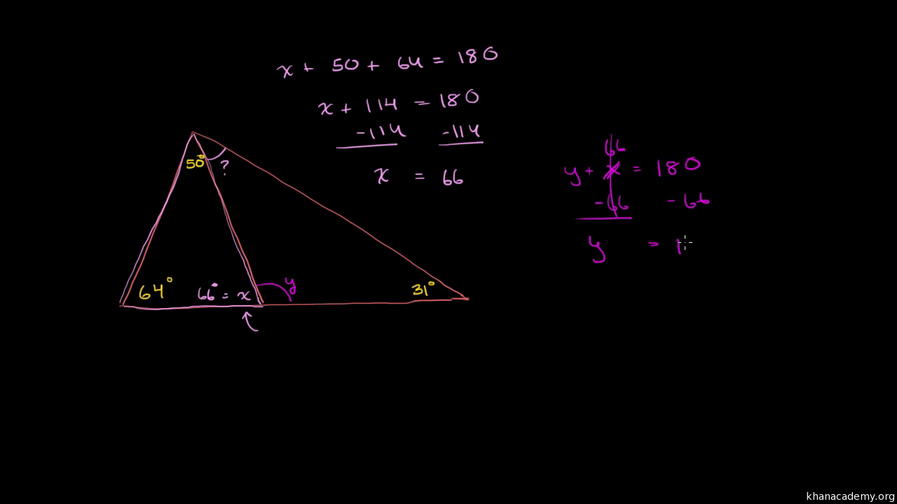 Math definition of exterior angle of a polygon use inductive reasoning to discover the What do exterior angles of a triangle add up to
