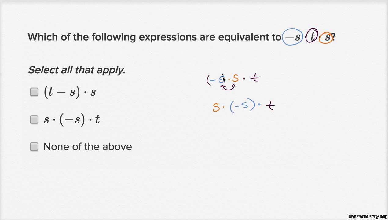 Worksheet Multiplication And Division Of Fractions And Mixed Numbers equivalent expressions with negative numbers multiplication and division practice khan academy