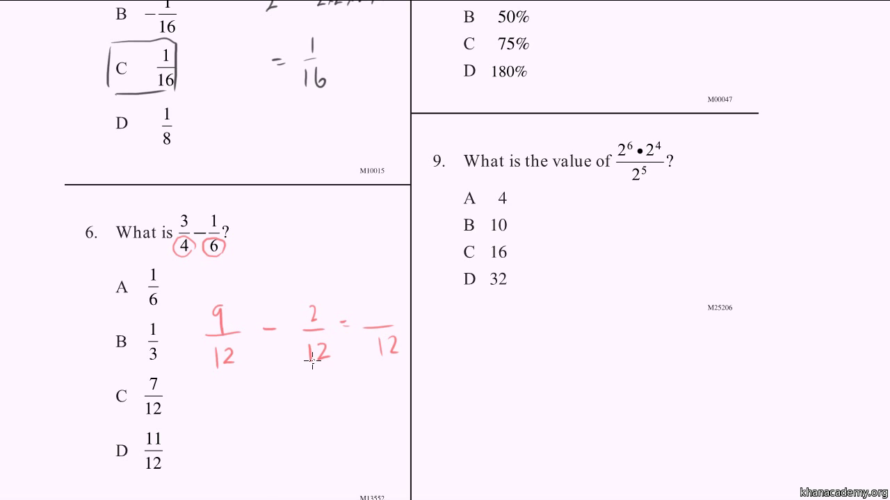 math worksheet : cahsee practice problems 1 3 video  khan academy : Cahsee Math Worksheets