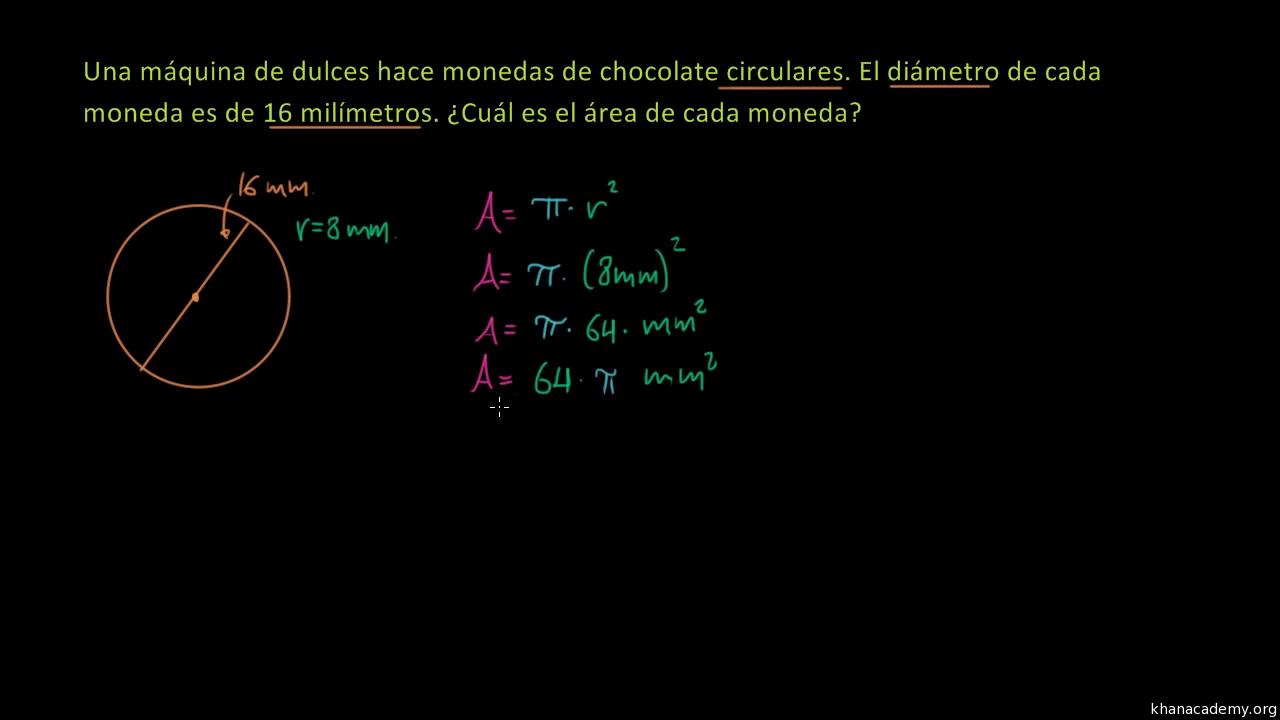 Radio, centro, circunferencia y π (video) | Khan Academy