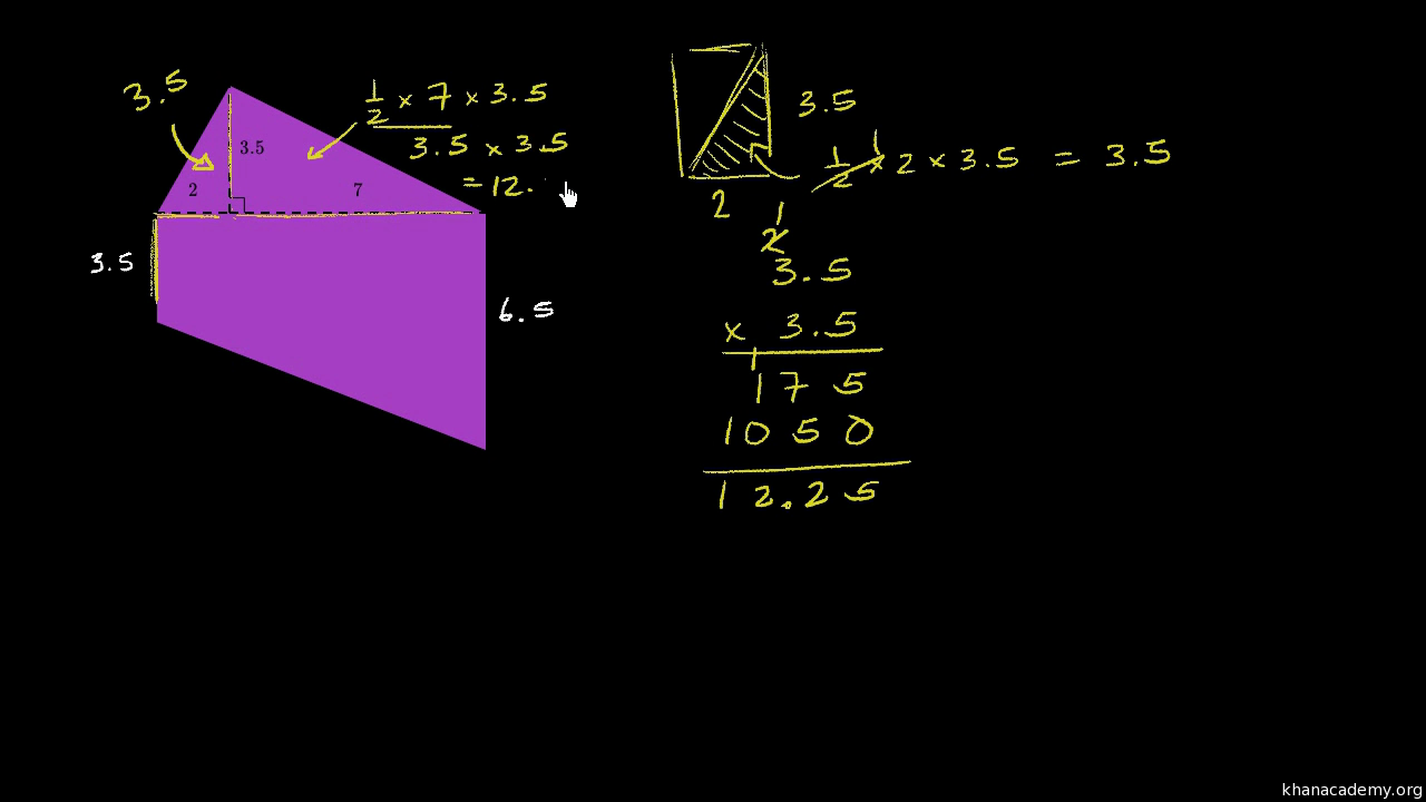 worksheet Area Of Composite Figures Worksheet Answers area of composite shapes video khan academy