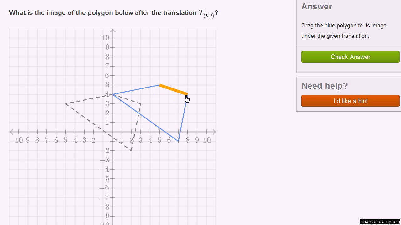 Transformations Geometry All Content Math Khan Academy