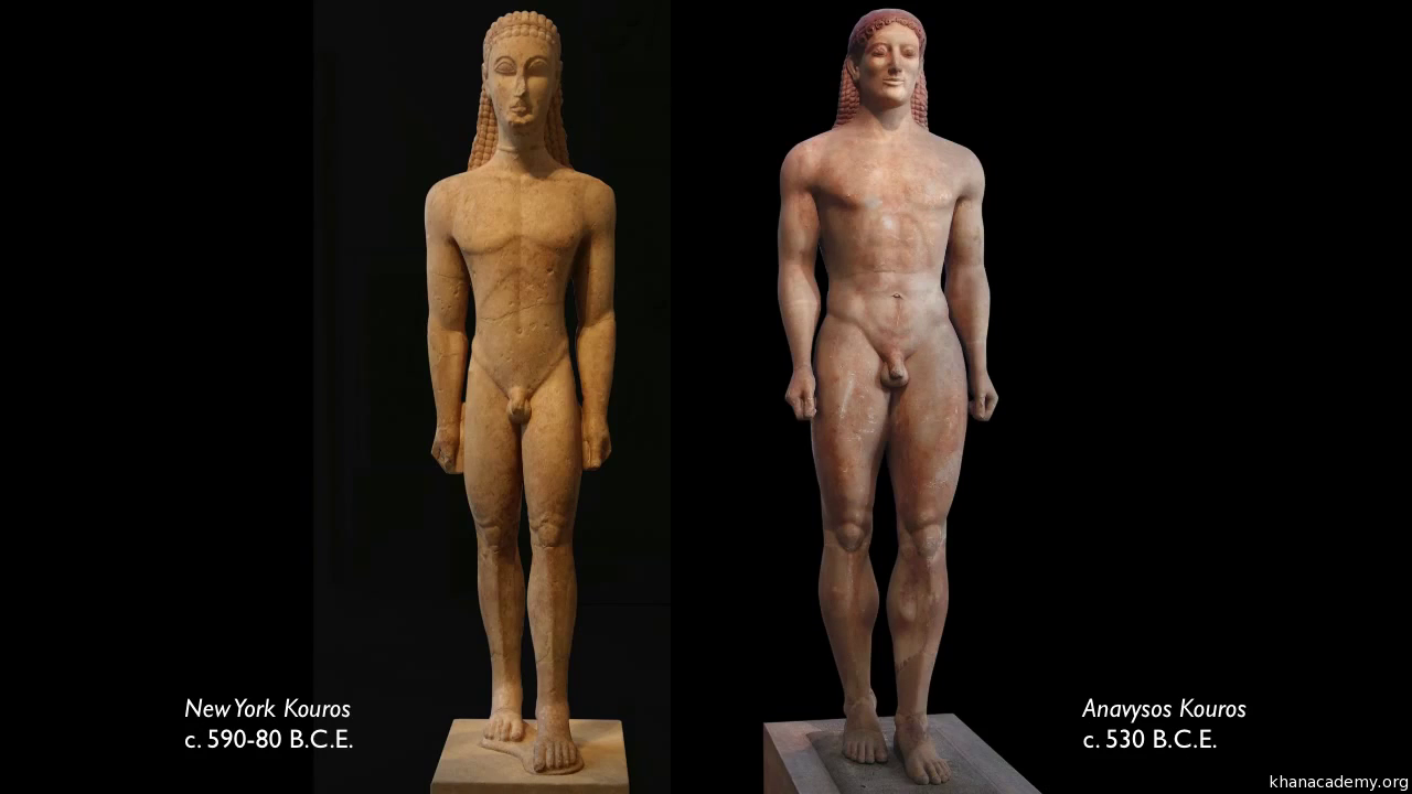 new york kouros essay example Statue of kouros the statue of khafre is a classic example of old kingdom classification is a method of developing an essay by arranging people.