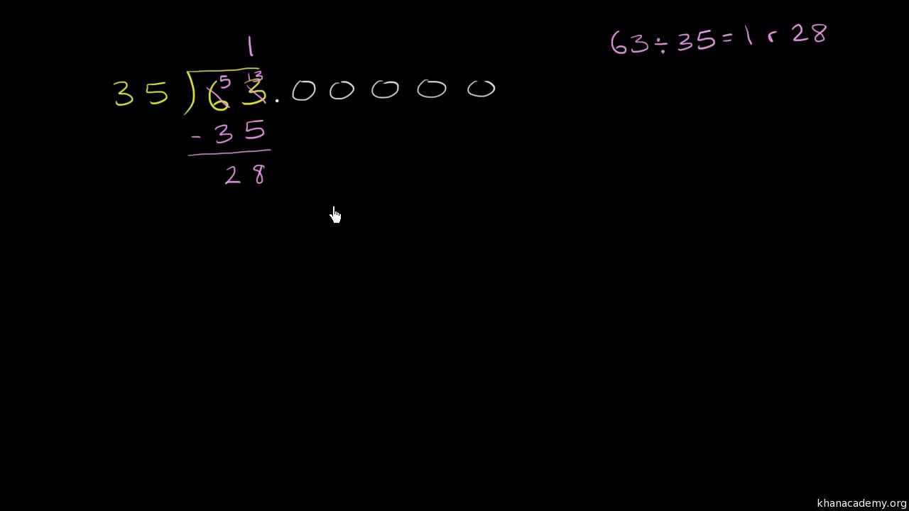 math worksheet : dividing by a multi digit decimal video  khan academy : Dividing Decimals Video