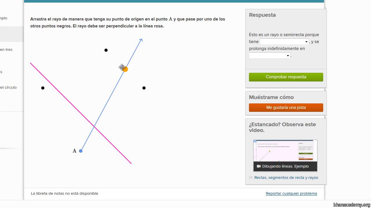 Dibujar segmentos de recta paralelos (video)   Khan Academy