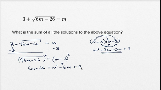 Radical And Rational Equations Harder Example Video Khan Academy
