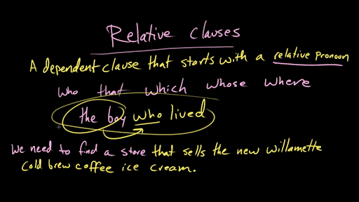 Phrases and clauses video khan academy stopboris Image collections