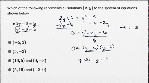 Linear and quadratic systems — Basic example